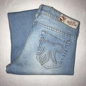 Mek Denim Moscow Slim Bootcut Denim Jeans